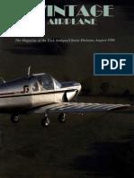 Vintage Airplane - Aug 1990