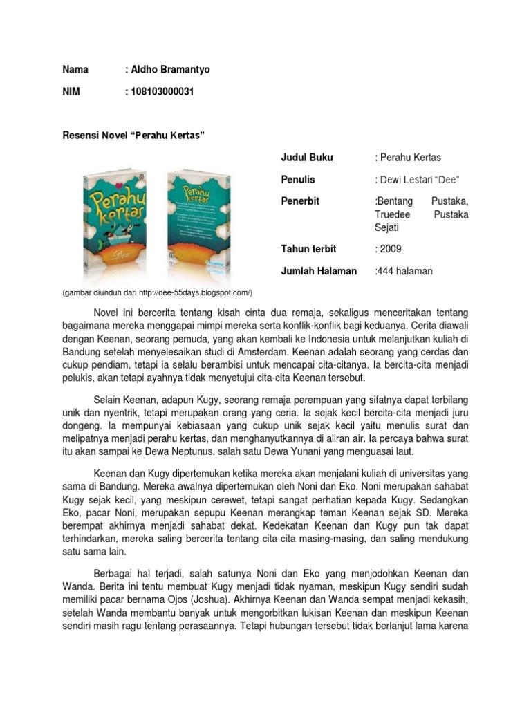 6000 Gambar Cover Novel Perahu Kertas Terbaik Infobaru