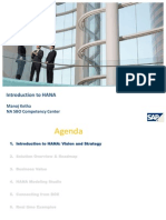 Introduction SAP_HANA
