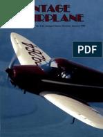 Vintage Airplane - Jan 1990
