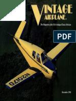 Vintage Airplane - Dec 1991