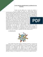 Variables y Herramientas del contexto Organizacional