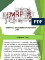 MRP Exposición