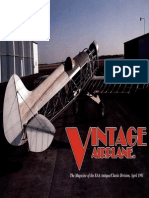 Vintage Airplane - Apr 1991