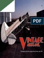 Vintage Airplane - Apr 1991