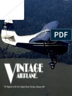 Vintage Airplane - Feb 1991