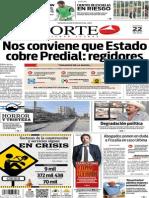 Periódico Norte edición del día lunes 22 de julio de 2014