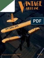 Vintage Airplane - Oct 1992