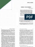 Desarrollo y Estilos de Desarrollo (O Martinez, 1979)
