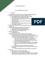 Developmental Biology Final Exam Review