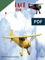 Vintage Airplane - Jun 1992