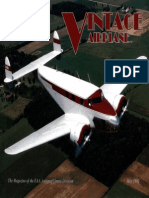 Vintage Airplane - May 1992