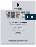Tax and Spending Limits