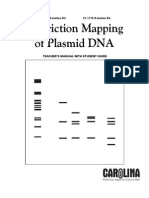Www.carolina.com PDF Manuals Restriction-mapping-plasmid