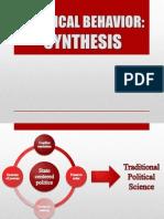 Political Behavior - Synthesis