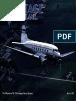Vintage Airplane - Mar 1992