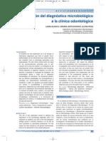 Contribución Del Diagnóstico Microbiológico