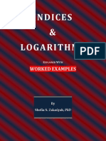 Indices and Logarithms Explained With Worked Examples_SSZakari