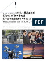 IET Are There Harmful Biological Effects 2014