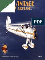 Vintage Airplane - Jun 1993
