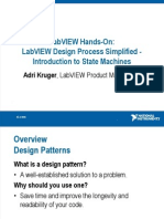 Hands-On LabVIEW State Machines Presenation