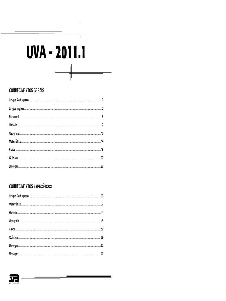 4373611 Comentario UVA 2011.1 Completo