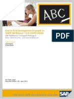 Brand-new ABAP 7.4 for SAP HANA End to End Development Guide With Latest ABAP 7.4 SP5 Features