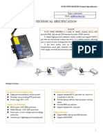 f1103 Gprs Modem Technical Specification