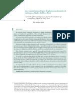 Estudio Etnobotánico y Etnofarmacológico de Plantas Medicinales de Tambopata, Madre de Dios - Yuly Molina Ayme (Madre de Dios, 2012) Artículo 17 Pp