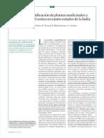Hacia La Certificación de Plantas Medicinales y Aromáticas Silvestres en 4 Estados de La India - P.bhattacharya y Otros (Unasylva, Revista de La FAO, 2008) Artículo 10 Pp