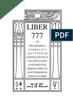 Liber 777-Revisado en Espa€¦'¦ñol