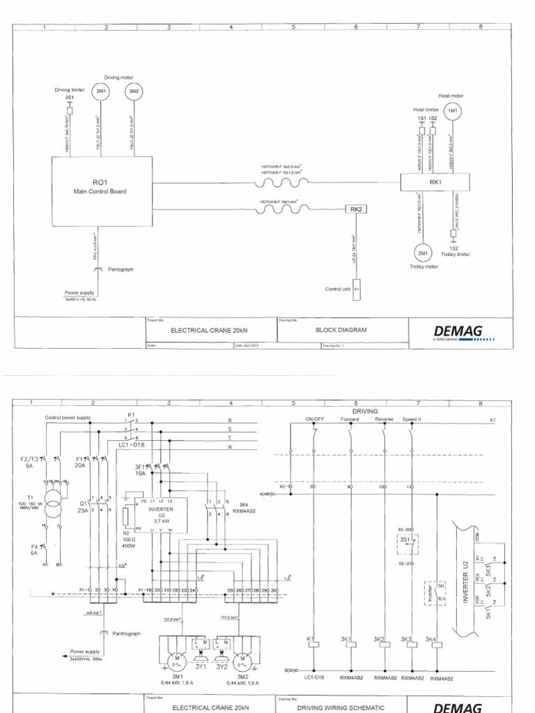 Demag Crane Wiring Diagram. Wiring Diagrams. longlifeenergyenzymes.com