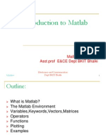 Matlab documents