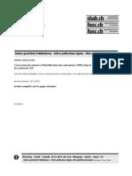 Conversion Du Numéro d'Identification Des Entreprises (IDE) Dans Le Registre Du Commerce Du Canton de GE.