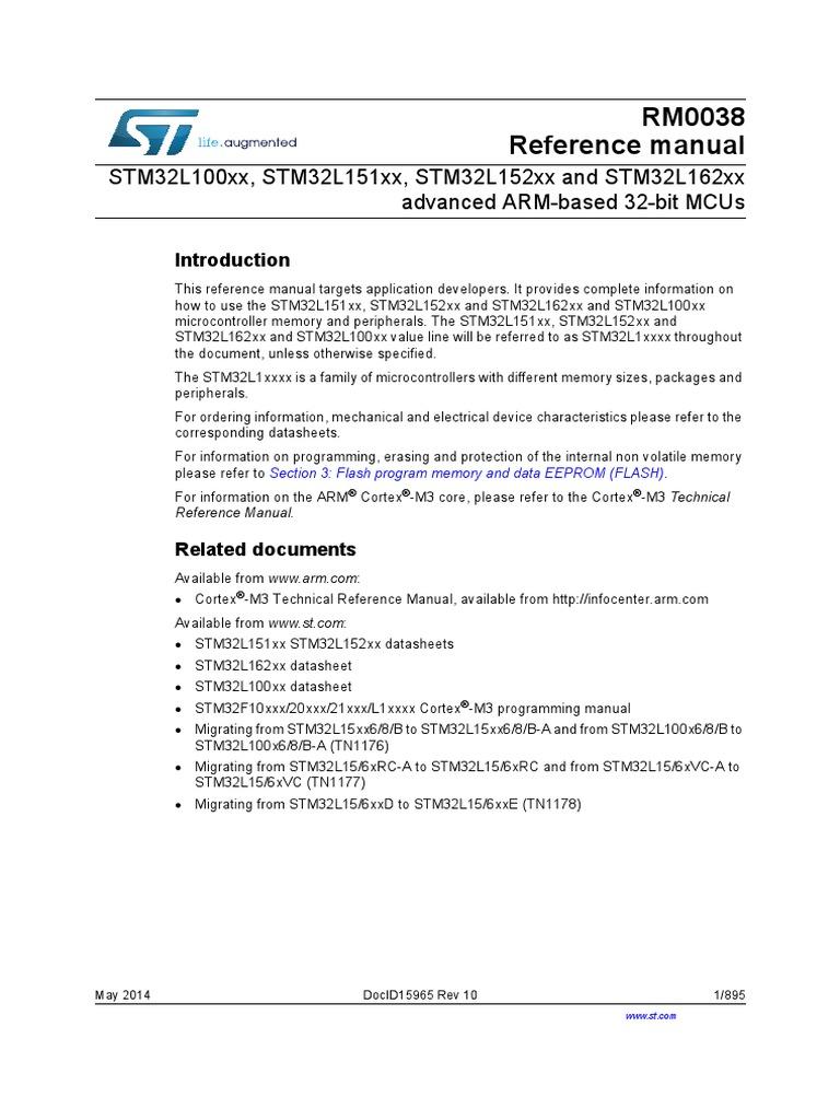 reference manual rm0038 flash memory analog to digital converter rh scribd com Verizon Manual Programming Skill Stop Manual