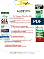 21st July,2014 Daily Global Rice E-Newsletter by Riceplus Magazine