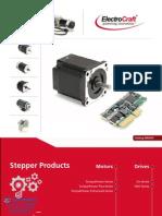 Electrocraft Stepper Catalog