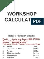 Fabrication Calculation 2