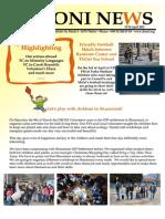 DRONI Newsletter April 2013