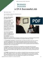Qualities of a Successful Job Seeker - Business Insider