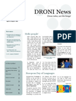 DRONI Newsletter September2013