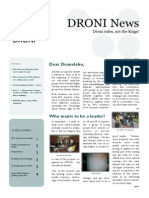 DRONI Newsletter October 2013