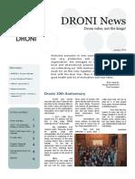DRONI Newsletter January 2014