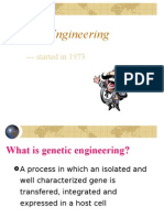 Genetic Engineering(1)using