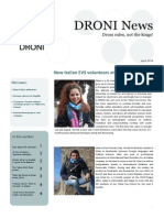 DRONI Newsletter April 2014