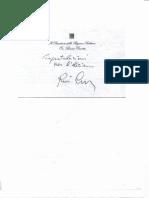Lettera Auguri Crocetta a Burrafato