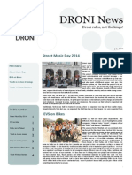 DRONI Newsletter July 2014