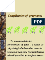 Complication of  preg