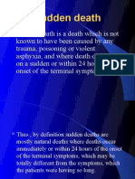 Natural death and sudden death1
