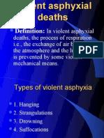 Violent asphyxial deaths